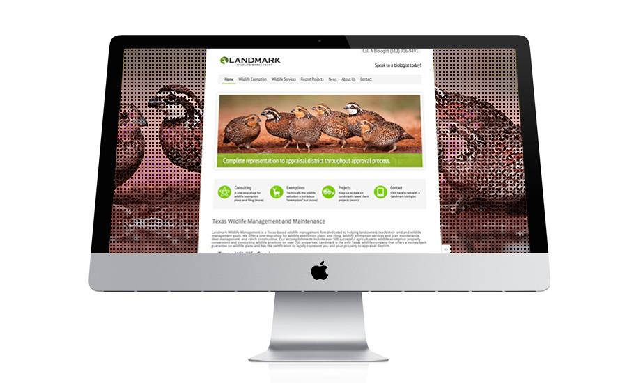Landmark Wildlife Management website