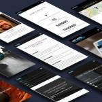 NoLandNoWater mobile site