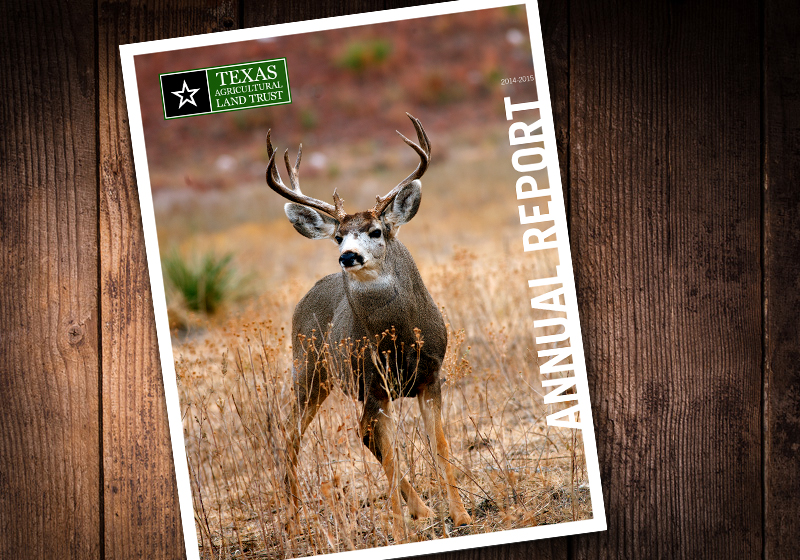 2015 Texas Agricultural Land Trust Annual Report